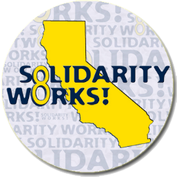 Solidarity Works button